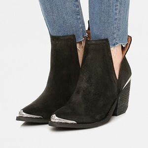 Cromwell Suede Booties